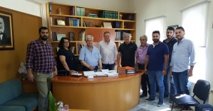 Επίσκεψη του Δημάρχου Ιεράπετρας στην ΔΕ Μακρύ Γιαλού