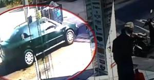 Βίντεο-ντοκουμέντο με την κλοπή του οχήματος της Διεύθυνσης Μεταγωγών στο Ίλιον