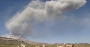 Περού: Εκρήξεις στο ηφαίστειο Ουμπίνας - Απομάκρυνση περίπου 1.000 κατοίκων