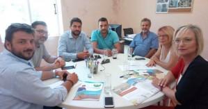 Συνάντηση της ΠΦΠΟ με τον νέο Δήμαρχο Χανίων, κ. Παναγιώτη Σημανδηράκη