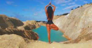 Στο νοσοκομείο για μία φωτογραφία στο Instagram από τοξική λίμνη στην Ισπανία
