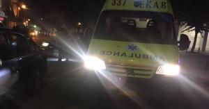 Νεαρός έχασε το πόδι του σε τροχαίο στο Καμπάνι