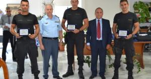 Δωρεά δέκα αλεξίσφαιρων γιλέκων στη ΓΕΠΑΔ Κρήτης και βραβεύσεις