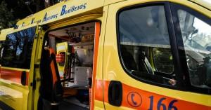 Σοβαρό τροχαίο με τραυματία οδηγό μοτοσικλέτας στην Χερσόνησο