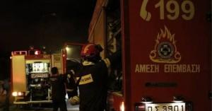 Πυρκαγιά ξέσπασε σε γκαρσονιέρα - Τραυματίστηκε κοπέλα προσπαθώντας να διαφύγει