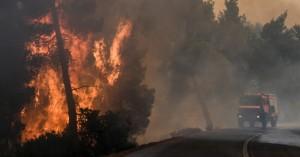 Εμπρησμός κατά 99% η φωτιά στην Εύβοια