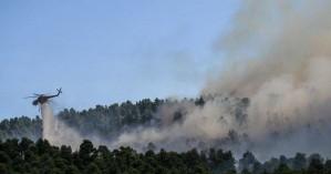 Δύο φωτιές ξέσπασαν στη Μεσσηνία -Kοντά σε κεραίες κινητής τηλεφωνίας