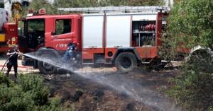 Φωτιά στο Διόνυσο: Ξεκίνησε μόλις 30 μέτρα από τα σπίτια -Σε ύφεση η πυρκαγιά