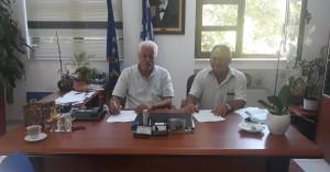 Υπεγράφη η σύμβαση για συντήρηση δημοτικού οδικού δικτύου Αποκόρωνα