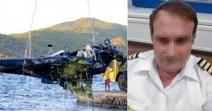 Συγκινεί ο γιος του πιλότου που έχασε τη ζωή του στο δυστύχημα με το ελικόπτερο στον Πόρο