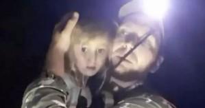 Η ελπίδα πεθαίνει τελευταία:Βρέθηκε σε άγριο δάσος η 5χρονη που είχε χαθεί για τρεις μέρες