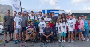 Θερμή υποδοχή στους αθλητές του Τάλω ΑΝΕΚ LINES