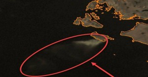 Ορατή από δορυφόρο η πυρκαγιά στη Ζάκυνθο