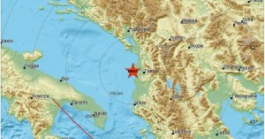Ισχυρός σεισμός 5,8 Ρίχτερ στην Αλβανία
