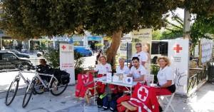 Οι εθελοντές του ΕΕΣ έκαναν δυναμική εμφάνιση στα Χανιά