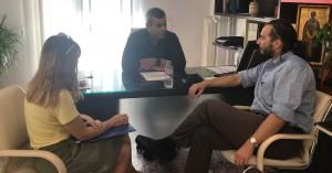 Συνάντηση Μαμουλάκη - Εργαζομένων προγράμματος Κοινωφελούς Εργασίας