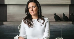 H Όλγα Κεφαλογιάννη στην πρώτη τηλεοπτική εμφάνιση μετά την αποκάλυψη της εγκυμοσύνης