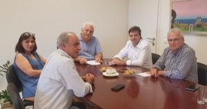 Διαδοχικές συναντήσεις Αντιπεριφερειάρχη - Δημάρχων του Νομού Ηρακλείου