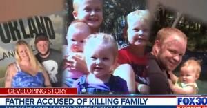 Σκότωσε τη γυναίκα και 4 παιδιά και κρατούσε για εβδομάδες τα πτώματα κρυμμένα