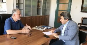Σημερινή συνάντηση Νίκου Ηγουμενίδη με τον Πρόεδρο και Διευθύνοντα Σύμβουλο του ΟΛΗ
