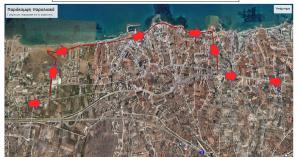Εκτροπή κυκλοφορίας στον κόμβο Γούρνες - Χερσόνησος