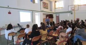 Μεγάλη συμμετοχή μαθητών στην εκδήλωση για την σεισμολογία