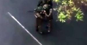 Αστυνομικοί στη Χιλή «σνιφάρουν άγνωστη ουσία» πριν συγκρουστούν με διαδηλωτές