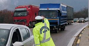 Δεν επιτρέπεται η κυκλοφορία φορτηγών ωφέλιμου φορτίου άνω του 1,5 τόνου στις 28/10