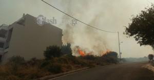 Απίστευτο! Απόπειρα πυρκαγιάς στο Ρέθυμνο, στο σημείο που η μεγάλη φωτιά απείλησε σπίτια