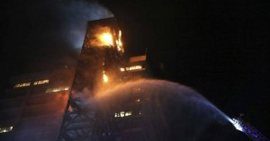 Τρεις νεκροί από πυρκαγιά σε σούπερ μάρκετ στο Σαντιάγο