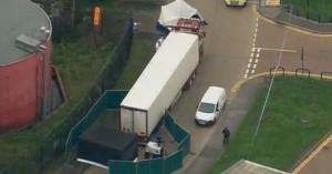 Σοκ στο Έσεξ: Βρέθηκαν 39 πτώματα σε φορτηγό