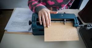 Γραφομηχανές, υπολογιστές και εκπαίδευση στους τυφλούς της Κρήτης