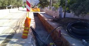 Οκτώ μήνες θα διαρκέσουν οι εργασίες για το υπόγειο καλώδιο Ξυλοκαμάρα - Κίσσαμος (φωτο)