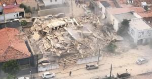 Βραζιλία: Επταώροφο κτίριο κατέρρευσε, τουλάχιστον ένας νεκρός