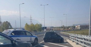 Ηλικιωμένος οδηγούσε στο αντίθετο ρεύμα στην Αθηνών-Λαμίας
