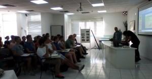 Φοιτητές από την Ολλανδία στις  Εγκαταστάσεις Επεξεργασίας Λυμάτων της ΔΕΥΑΗ