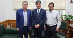 Στην Περιφέρεια Κρήτης ο Πρέσβης της Δημοκρατίας της Κορέας