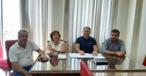 Ενημερωτική συνάντηση με τους Περιφερειακούς Συμβούλους είχε ο Αντιπεριφερειάρχης Λασιθίου