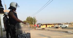 Σε εξέλιξη αστυνομική επιχείρηση στον καταυλισμό των Ρομά