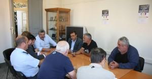 Σύσκεψη για την...εφαρμογή του Νόμου για τις λαϊκές αγορές στα Χανιά