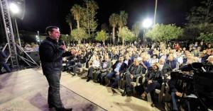 Στο Ρέθυμνο ολοκληρώθηκε η διήμερη περιοδεία του Αλέξη Τσίπρα στην Κρήτη (φωτο-βίντεο)