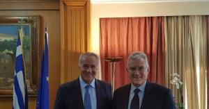Διευκρίνιση σχετικά με συνάντηση Βορίδη - Βολουδάκη για αποζημιώσεις ΠΣΕΑ