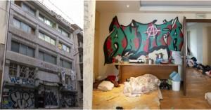 Εδώ ζούσαν οι 138 μετανάστες στο κτίριο που εκκενώθηκε - Άθλιες συνθήκες