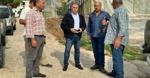 Επίσκεψη του δημάρχου Ιεράπετρας στην κοινότητα Σχινοκαψάλων
