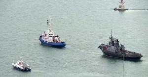 Η Ρωσία επέστρεψε στην Ουκρανία τα τρία σκάφη του πολεμικού ναυτικού που είχε καταλάβει