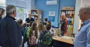 Επίσκεψη από το Δημοτικό Σχολείο Ελιάς στο Δημαρχείο Χερσονήσου