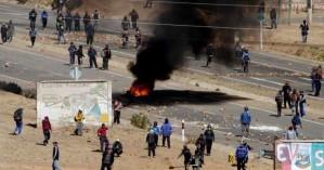 ΟΗΕ: «Αναίτια και δυσανάλογη η χρήση βίας στη Βολιβία»