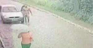 Βραζιλία: Γυμνός άντρας κυνηγά γυναίκα για να τη βιάσει στη μέση του δρόμου (βίντεο)
