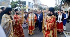 Με κάθε επισημότητα γιορτάστηκε στην Κίσαμο ο Άγιος Σπυρίδωνας