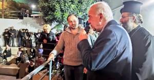 Στην χριστουγεννιάτικη εκδήλωση στο Δειλινό ο Δήμαρχος Ηρακλείου Βασίλης  Λαμπρινός